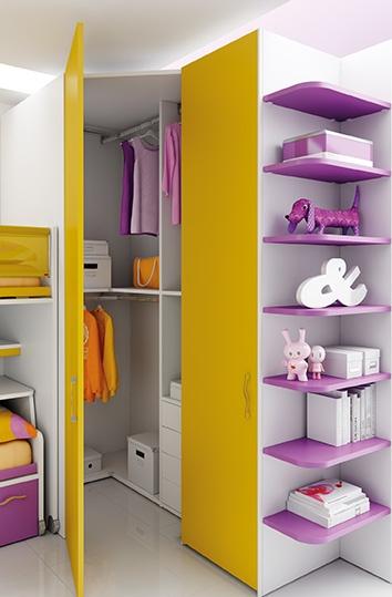 #Arredamento #Cameretta Moretti Compact: Catalogo Start Solutions 2013 >> LH20 #armadio #mensole http://www.moretticompact.it/start.htm