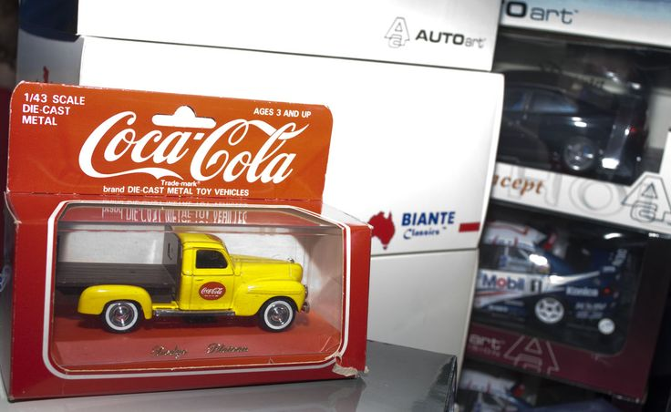 Coca Cola Biante diecast models
