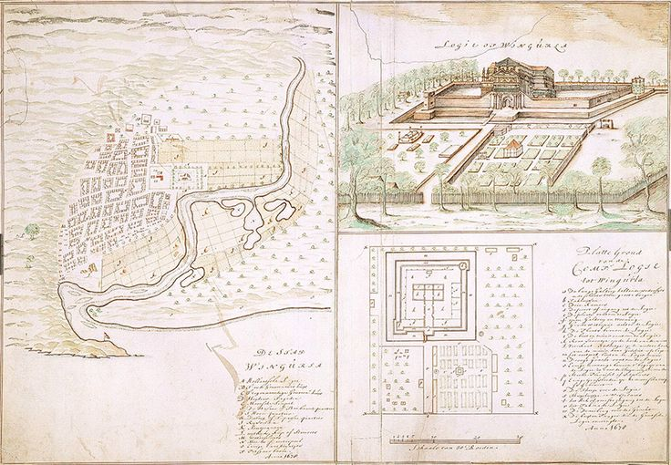 17th century Dutch Warehouse Factory in Vengurla / Wingurla #heritage