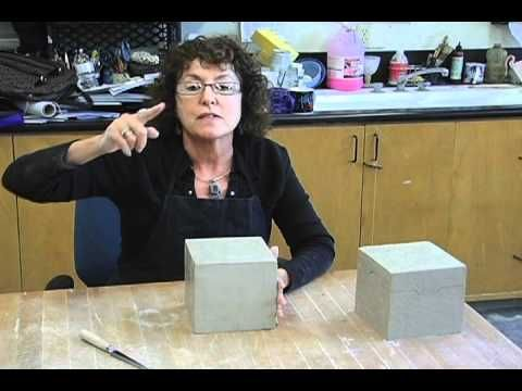 ▶ Creating a Ceramic Box: Part 3 - Cleaning up the Box - YouTube