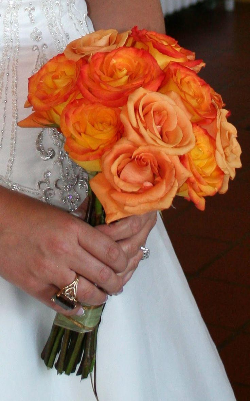 MuyAmeno.com: Ramos de Novias Color Naranja, parte 2