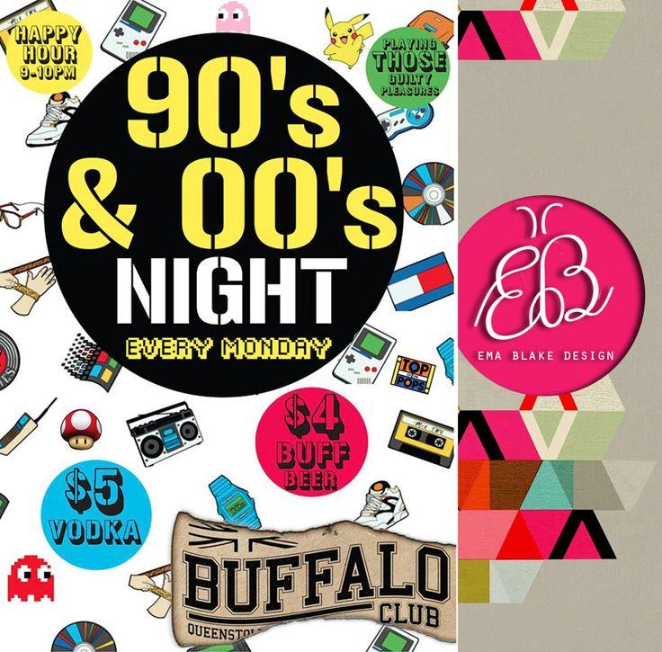 90's & 00's Night | Buffalo Club | Queenstown | New Zealand