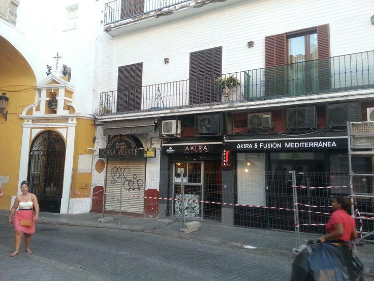 Calle Almirantazgo Sevilla Rehabilitacion De Fachada Con Imagenes Rehabilitacion De Fachadas Fachadas