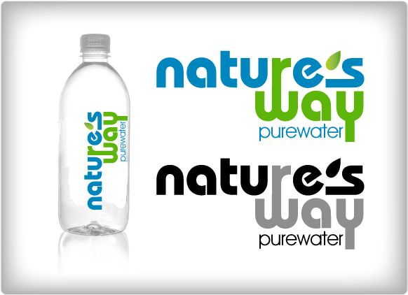 Logo Design: Bottled Water Company by LizG