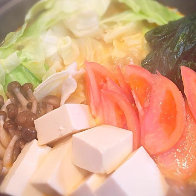 トマトチーズ鍋 - 3件のもぐもぐ - トマトチーズ鍋 by stars0511