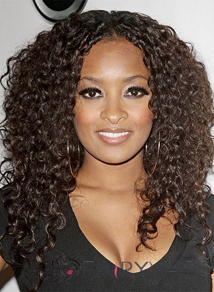 black curly hair style wonderful medium curly brown american lace wigs 3403