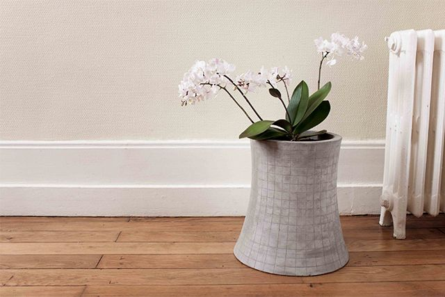 """Nuclear #Plant #Flower Pot"" – #Concrete #Furniture by Lyon Beton via #iGNANT"