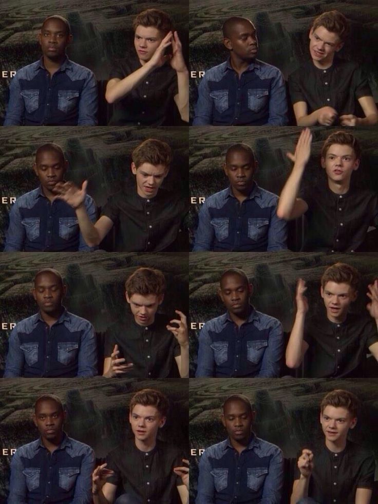 I have two moods: Aml Ameen or Thomas Brodie-Sangster.<<< yes! That is so funny and also kinda accurate.<------- *cough* he's a fanboy *cough*