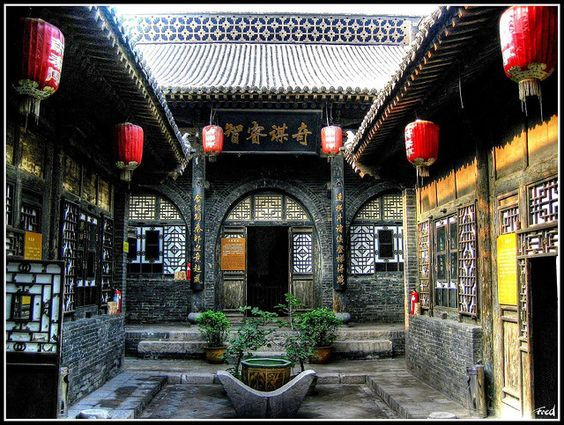 Classic courtyard home.: