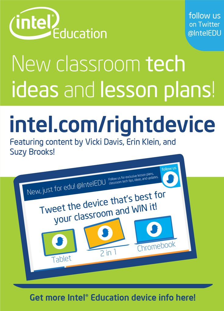 Classroom Technology Ideas ~ Great new classroom tech ideas and lesson plans from intel