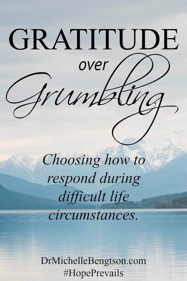 When you go through difficult life circumstances, what's your first response? Is…