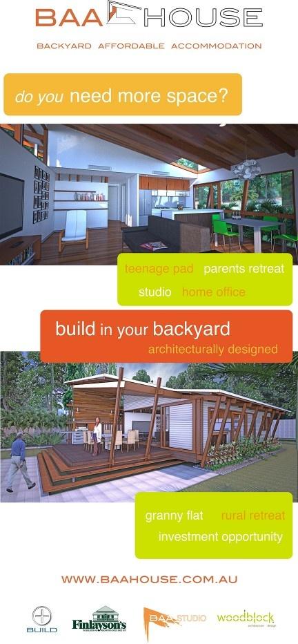 A modern granny flat in your backyard