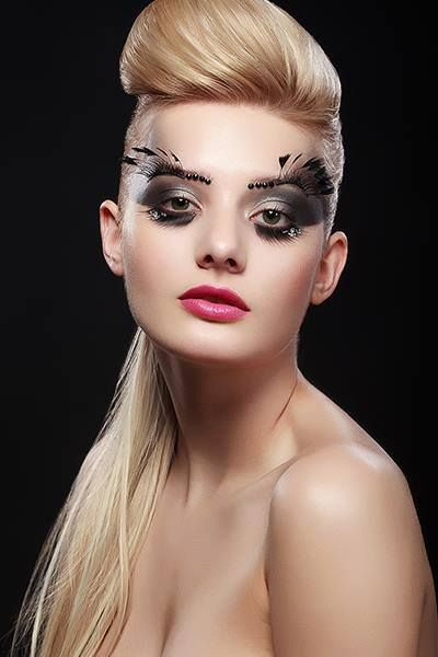 #extreme #makeup