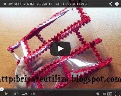Riciclo bottiglie di plastica, come creare una borsa [Video]