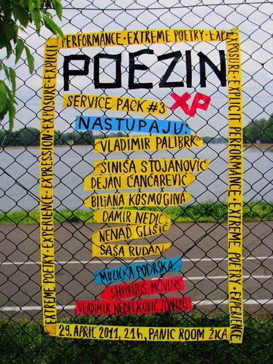 Dragana Nikolic, poezin xp 3 poster
