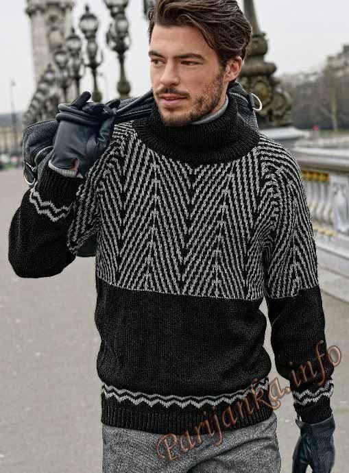 Пуловер (м) 695 Creations 2013/2014 Bergere de France №3902
