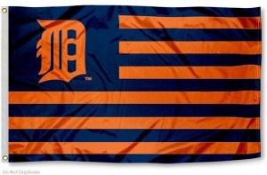 Detroit Tiger Nation Flag