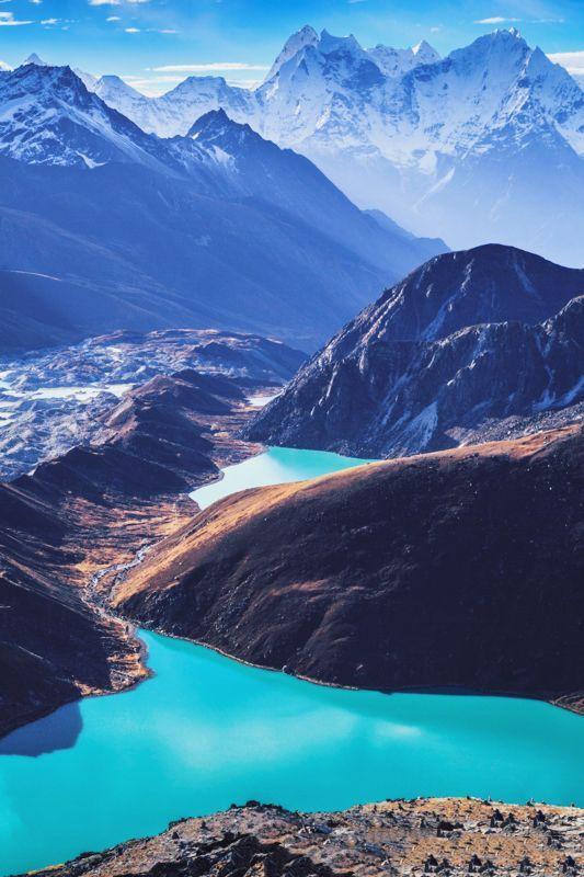 Gokyo Lakes - Sagarmatha National Park, Nepal. www.ghilliesuitshop.com