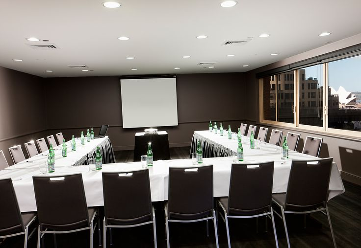 spacious and contemporary function room at Quay West Sydney.    #conference #sydney#hotelssydney