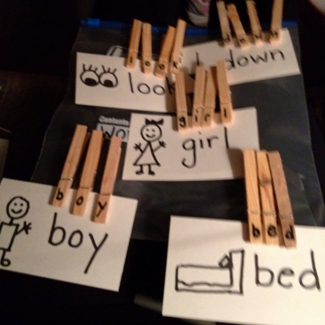 Fine motor and literacy ~ Great idea!!! I love how it combines Speech/Language and OT ~ So many activities you can do with this :) Repinned by SOS Inc. Resources. Follow all our boards at http://pinterest.com/sostherapy for therapy resources.