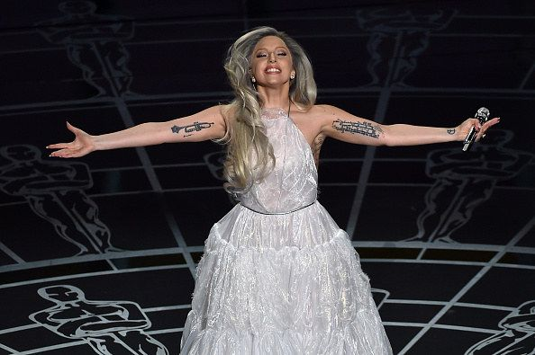 """So you probably STILL have chills from Lady Gaga's EPIC tribute at the Oscars to The Sound of Music. 