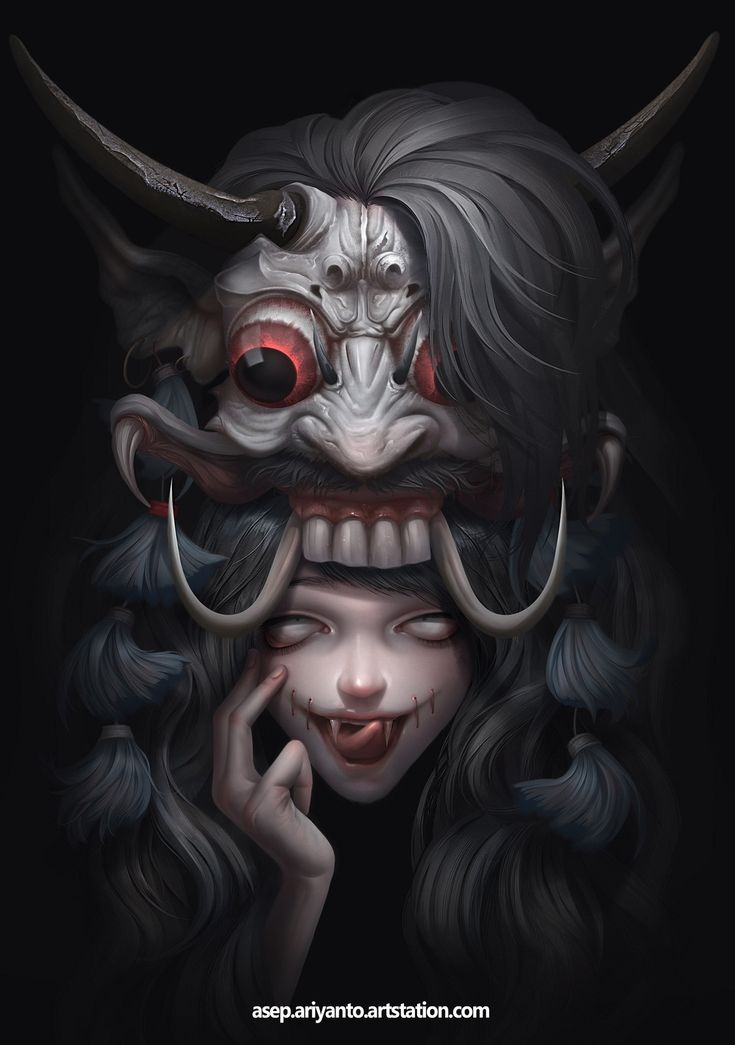 Mix demon, Asep Ariyanto on ArtStation at https://www.artstation.com/artwork/JBDR0