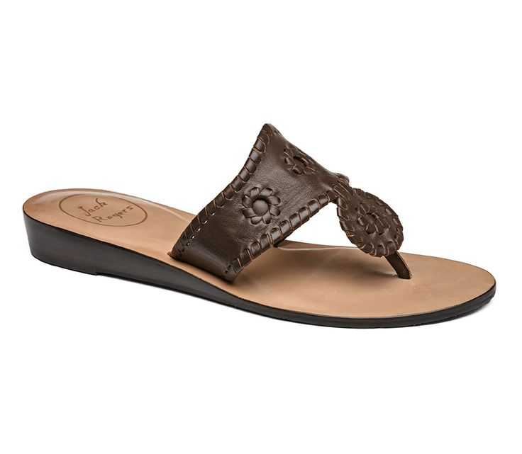 Jack Rogers Capri Sandal- Espresso from Shop Southern Roots TX