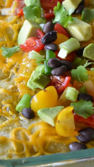 Avocado Enchiladas~ are my (much lighter) take on the typical ...