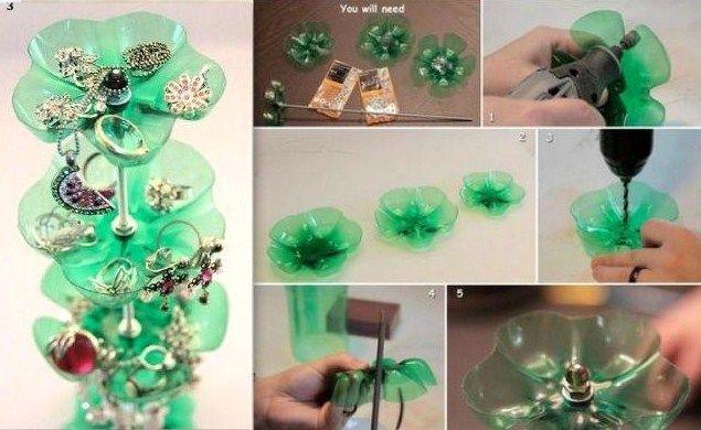 Découvrez ce que l'on peut faire de joli avec de simples bouteilles en plastique. Plein d'idées pratiques pour recycler et réutiliser ingénieusement vos bouteilles en plastique plutôt que de les jeter.. Une idée originale, faire de jolis cache-pots avec des culs de bouteilles plastique. Du...