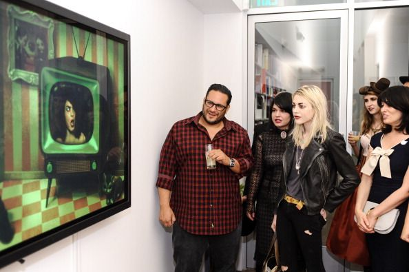 frances bean cobain 2014 | Kohn Gallery Grand Opening And Inaugural Exhibition: Mark Ryden
