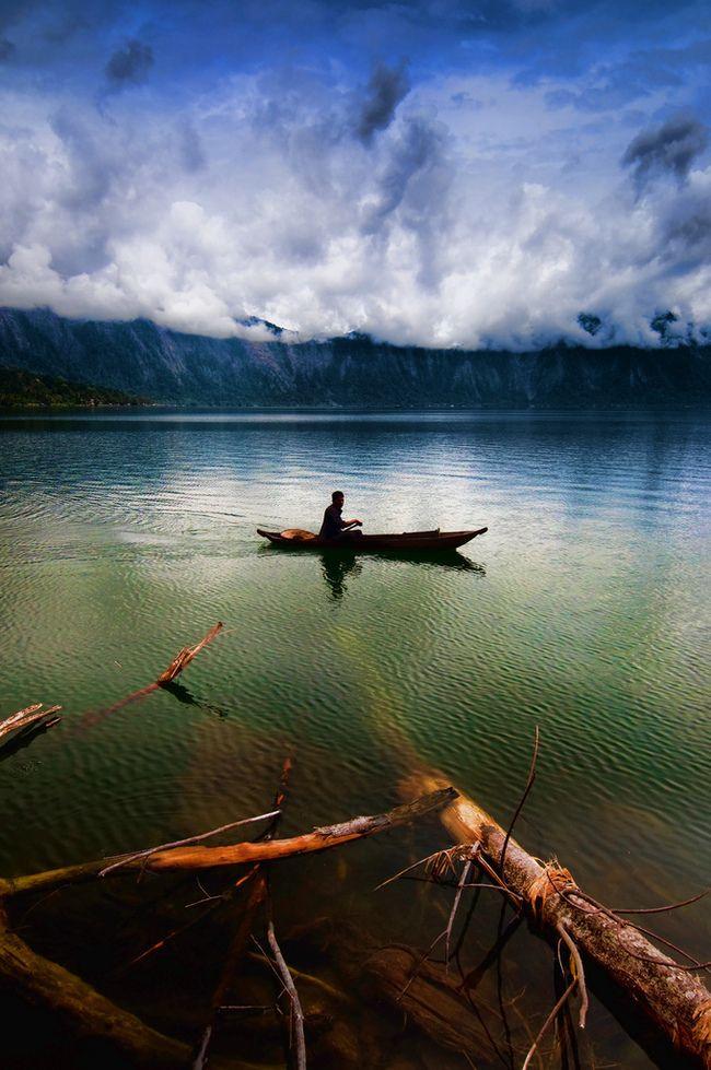 Lake Maninjau, Tanjung Raya, Indonesia #adventure #travel #Indonesia