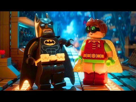 Лего Бэтмен Робин Игры для Детей Мультики про Машинки