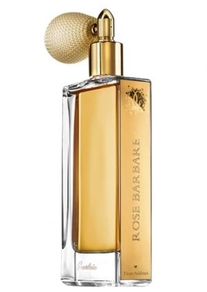 Rose Barbare by Guerlain is a sweet, aldehydic and woody Chypre Floral fragrance with aldehydes and rose in the top. Rose and fenugreek in the middle. Honey, patchouli and woody notes in the base. - Fragrantica