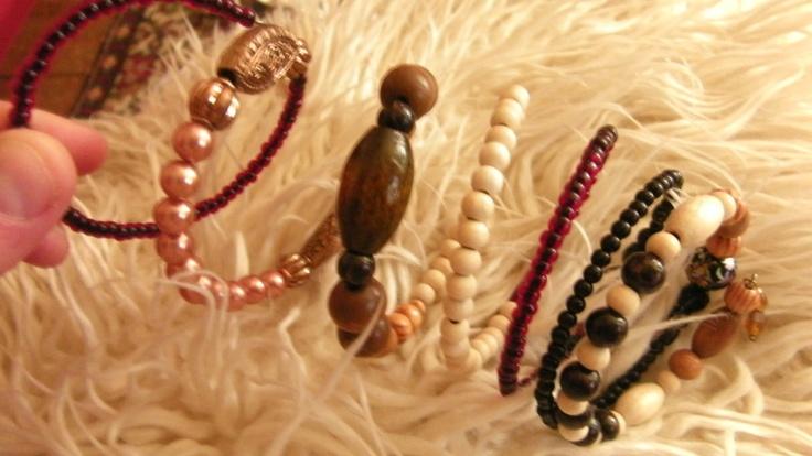 Ethnic memory bracelet,  see - http://undertherowantree.bigcartel.com/
