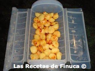 Patatas al vapor con pimentón