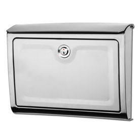 loweu0027s mailboxes 14in x 1034in metal stainless