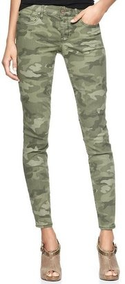 Gap camo skinnies - bought these yesterday, hope I can pull them off!
