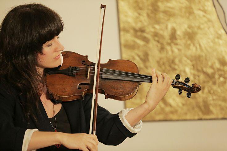Inspiratiehuis Arnhem, muziekimprovisatie Miriam Moczko