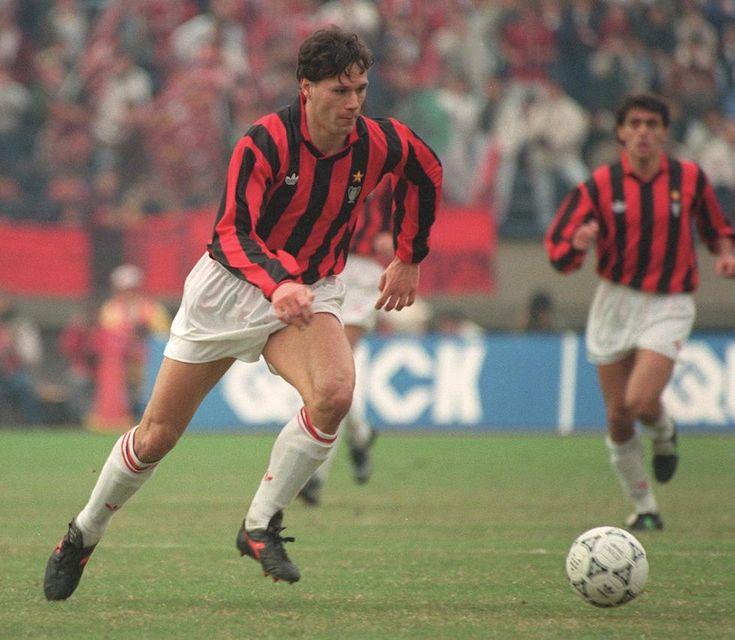 Marco Van Basten (1990) #milan #calcio #sport #storia