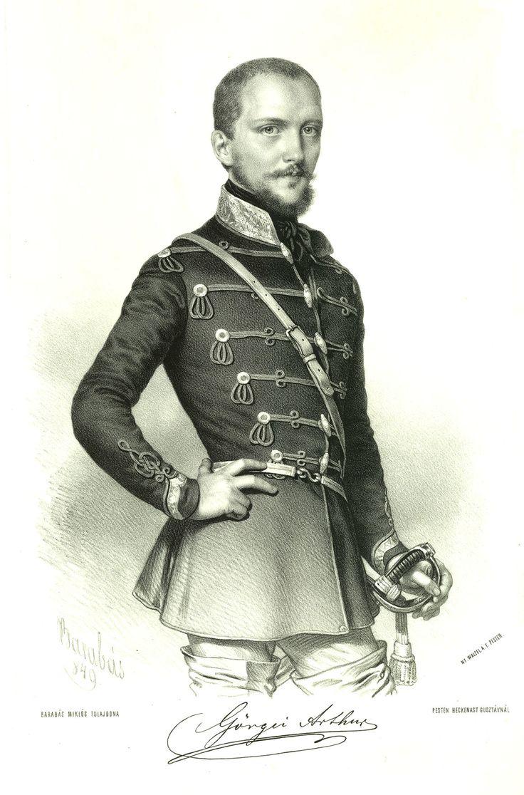 Pár óráig volt diktátor, az egész ország bűnbakja lett - Görgey Artúr (Barabás Miklós képe)
