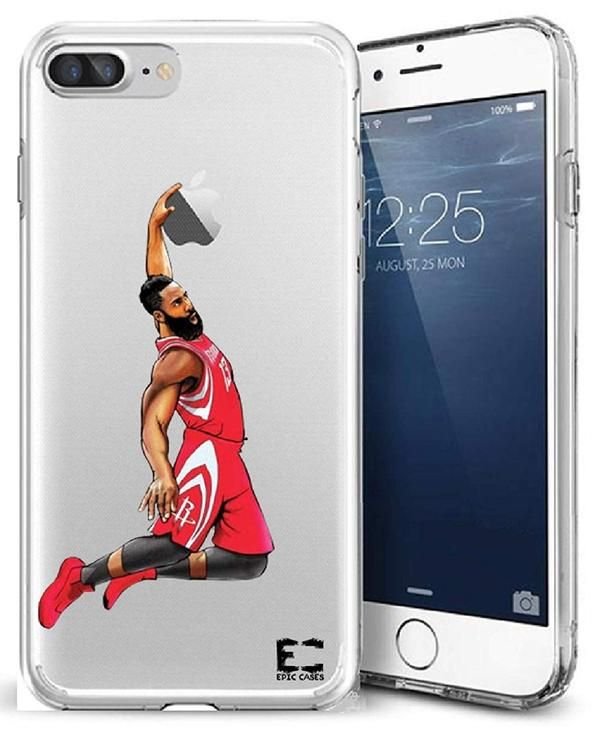 meet e8279 11b17 EPIC x NBA Hydro Clear iPhone 7 / 8 Case - Fear the Beard Harden in ...