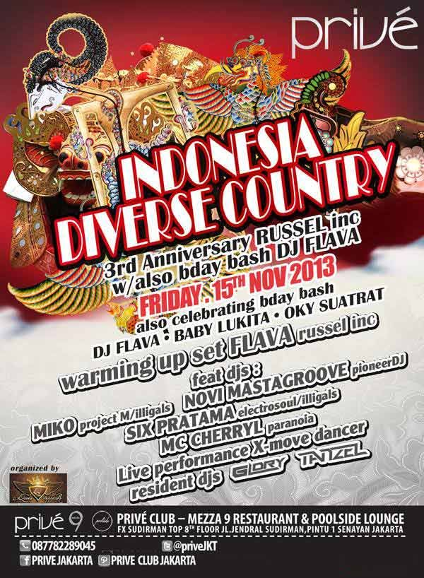 INDONESIA DIVERSE COUNTRY