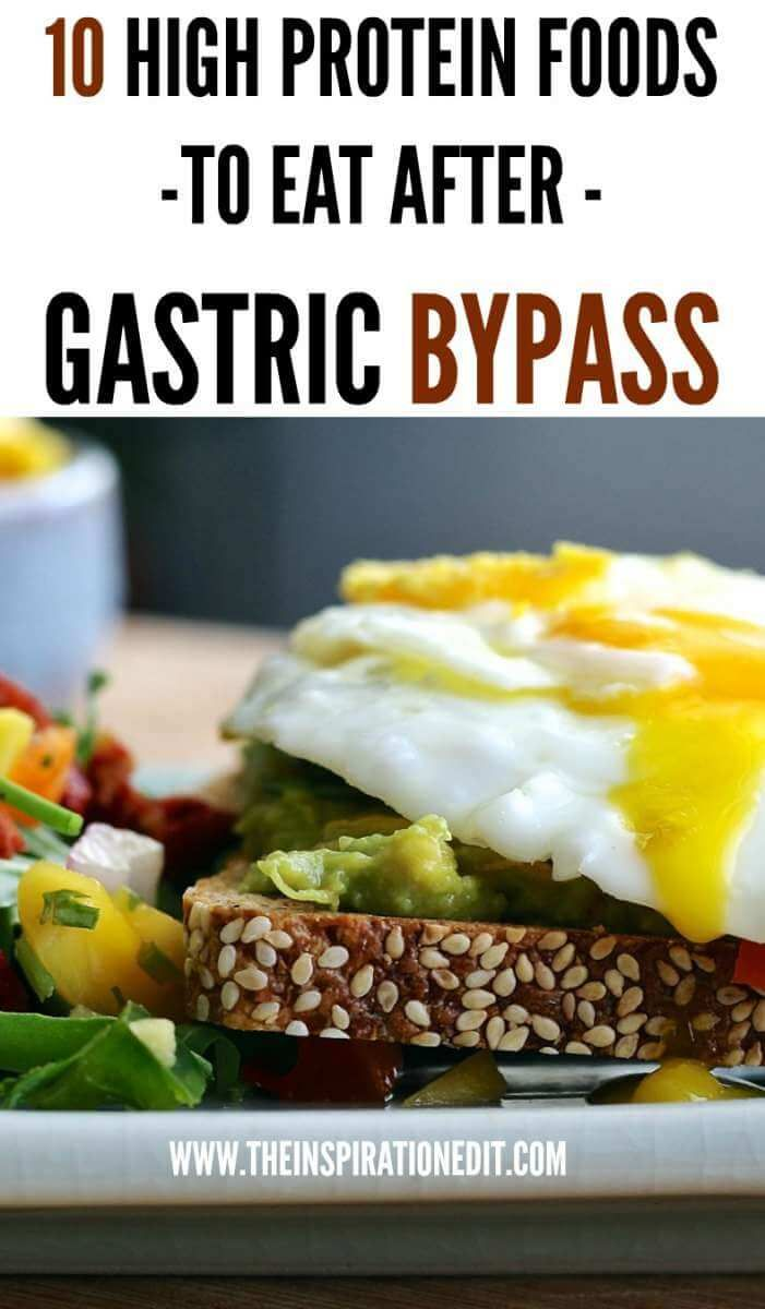 10 High Protein Foods To Eat After Having Gastric Bypass Surgery