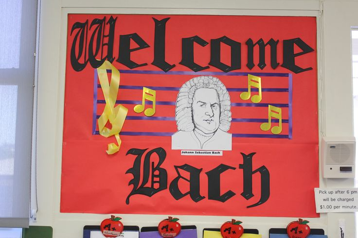 September - Welcome Back! (Bach) - The Musical Way