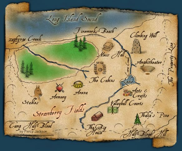 Camp Half-Blood - Camp Half-Blood Wiki- Percy Jackson, The Heroes of Olympus, The Lightning Thief movie, books, series