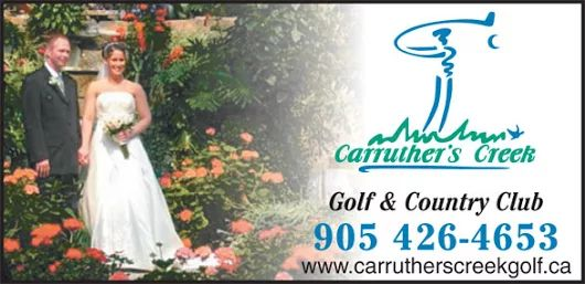 Carruther's Creek Golf & Country Club, Weddings & Events