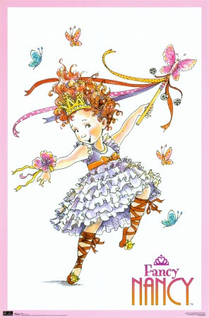 Fancy Nancy's illustrator is from Washington state, and collaborated with a Bellevue (near Seattle) ballet company to create Fancy Nancy ballet performances