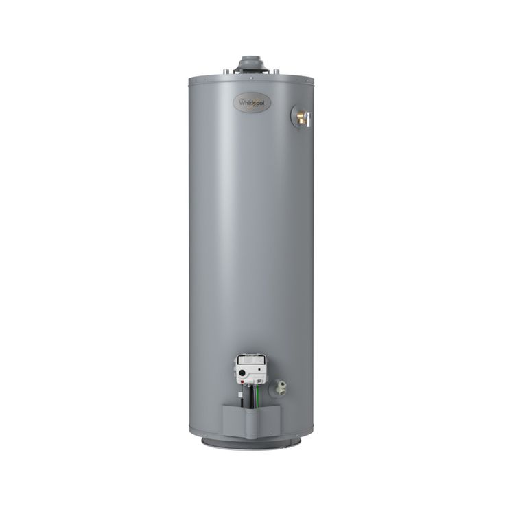 Whirlpool 50-Gallon 6-Year Tall Natural Gas Water Heater