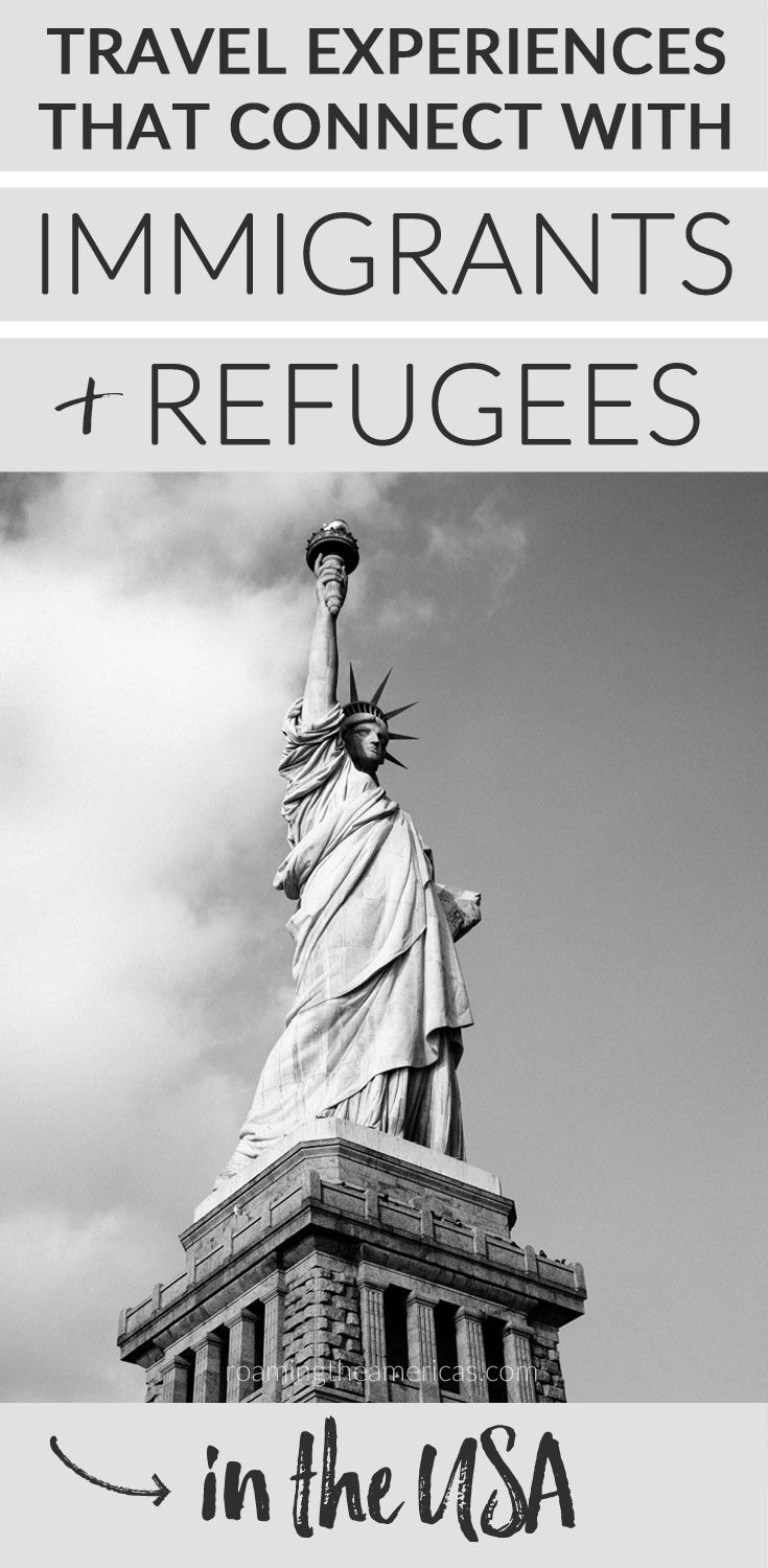 Tours, restaurants, hotels, travel experiences that support immigrants and refugees in the United States | Immigrant owned businesses USA | Refugee owned businesses | Refugees Welcome Here @roamtheamericas #travelUSA #roadtripUSA via @roamtheamericas