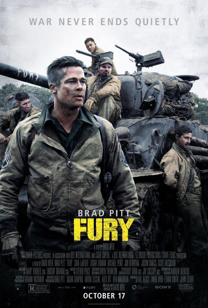 [Movie 281] Fury (2014) Director: David Ayer #DLMChallenge #366Movies #366Days